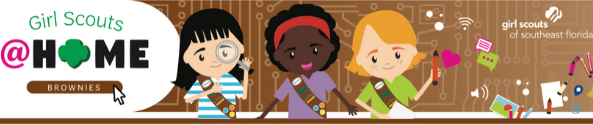 Girl Scouts At Home_Brownies_593x125