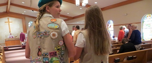 Girl Scouts and Faith
