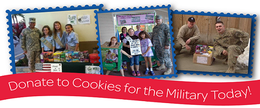 Cookies for the Military