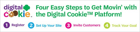 4 easy steps to digital cookie no mobile app